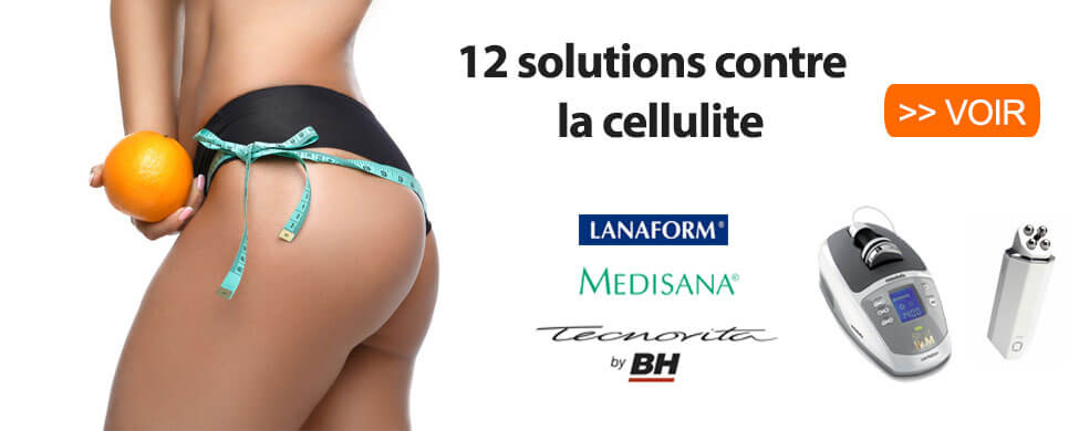 solutions contre la cellulite et la peau d'orange